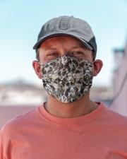 Australian Cattle Dog Awesome H28866 Cloth face mask aos-face-mask-lifestyle-06