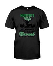 Hunter's Wife Classic T-Shirt thumbnail