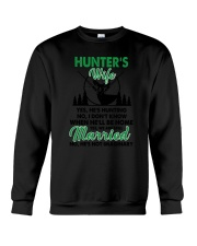 Hunter's Wife Crewneck Sweatshirt thumbnail