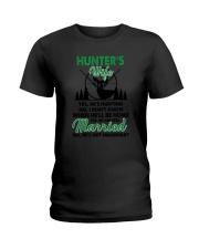 Hunter's Wife Ladies T-Shirt thumbnail