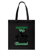 Hunter's Wife Tote Bag thumbnail