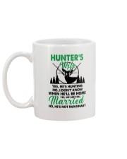 Hunter's Wife Mug back