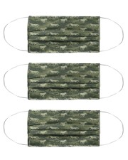 Horse Camo TJ1901 Cloth Face Mask - 3 Pack front