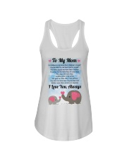 Family To My Mom I Love You Ladies Flowy Tank thumbnail