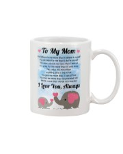 Family To My Mom I Love You Mug front