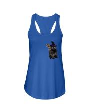 Black cat Halloween Pocket Ladies Flowy Tank thumbnail