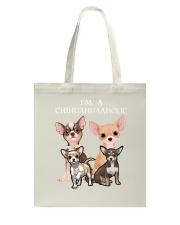 Chihuahua Camp Mau White Tote Bag thumbnail