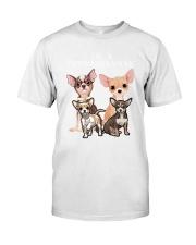Chihuahua Camp Mau White Classic T-Shirt front
