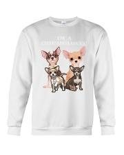 Chihuahua Camp Mau White Crewneck Sweatshirt thumbnail