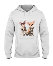 Chihuahua Camp Mau White Hooded Sweatshirt thumbnail