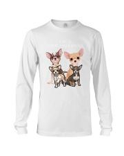 Chihuahua Camp Mau White Long Sleeve Tee thumbnail