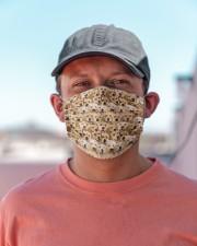 Golden Retriever Awesome H27836 Cloth face mask aos-face-mask-lifestyle-06