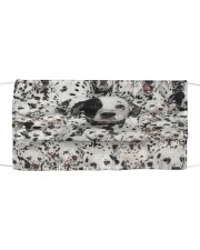 Dalmatian Awesome H27858 Cloth face mask front