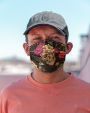 Skull Flower G82515 Cloth face mask aos-face-mask-lifestyle-06