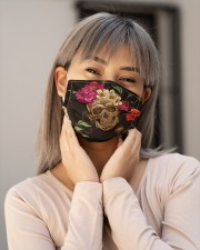 Skull Flower G82515 Cloth face mask aos-face-mask-lifestyle-17