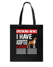DOGS - BOXER - BREAKING NEWS Tote Bag thumbnail