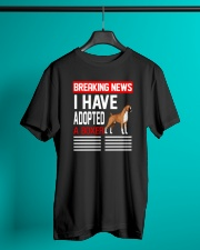 DOGS - BOXER - BREAKING NEWS Classic T-Shirt lifestyle-mens-crewneck-front-3