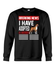 DOGS - BOXER - BREAKING NEWS Crewneck Sweatshirt thumbnail