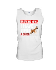 DOGS - BOXER - BREAKING NEWS Unisex Tank thumbnail
