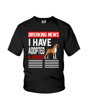 DOGS - BOXER - BREAKING NEWS Youth T-Shirt thumbnail