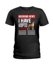DOGS - BOXER - BREAKING NEWS Ladies T-Shirt thumbnail