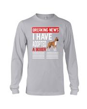 DOGS - BOXER - BREAKING NEWS Long Sleeve Tee thumbnail
