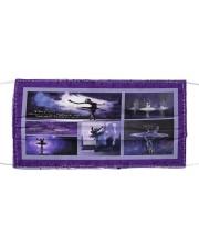 Ballet Purple T825 Cloth face mask front