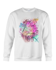Dragonfly Always Crewneck Sweatshirt thumbnail