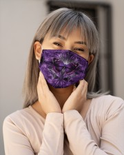 Butterfly Purple H31747 Cloth face mask aos-face-mask-lifestyle-17