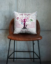 Family - My Daughter Square Pillowcase aos-pillow-square-front-lifestyle-04