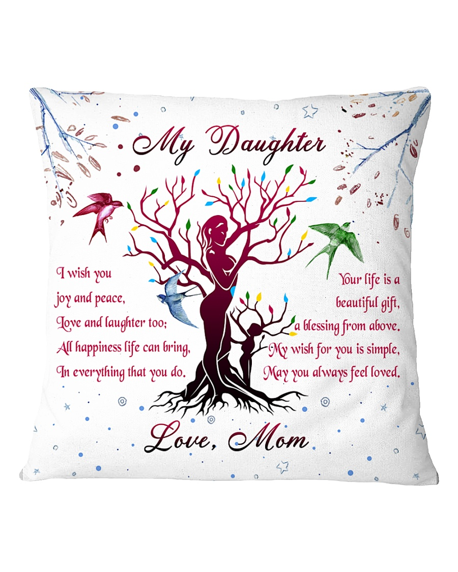 Family - My Daughter Square Pillowcase