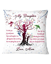 Family - My Daughter Square Pillowcase front