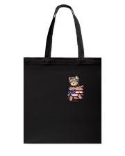 Yorkshire Terrier America Bag Tote Bag thumbnail