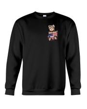 Yorkshire Terrier America Bag Crewneck Sweatshirt thumbnail