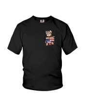 Yorkshire Terrier America Bag Youth T-Shirt thumbnail