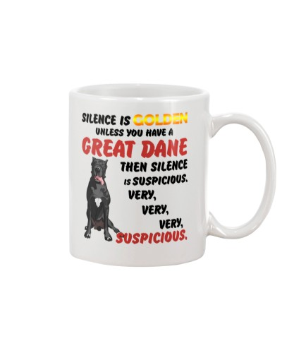 Great Dane - Silence is very suspicious