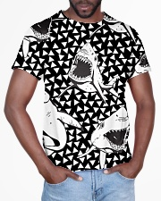 Shark Black And White T5TS All-over T-Shirt aos-all-over-T-shirt-lifestyle-front-03