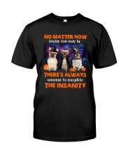 Dog - Halloween insane - French Bulldog Classic T-Shirt thumbnail