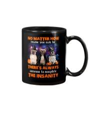 Dog - Halloween insane - French Bulldog Mug thumbnail