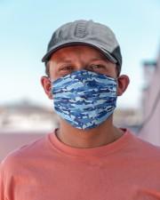 Amazing Camouflage Shark H21849 Cloth face mask aos-face-mask-lifestyle-06