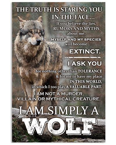 I am simply a Wolf