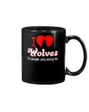 I LOVE WOLVES Mug thumbnail