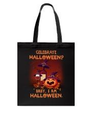 Halloween - Celebrate Wine Tote Bag thumbnail