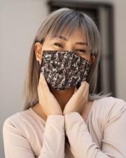English Springer Spaniel Awesome H27848 Cloth face mask aos-face-mask-lifestyle-17