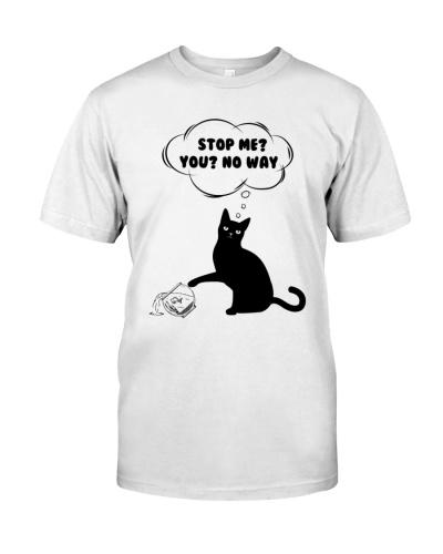 Black cat No way to stop me
