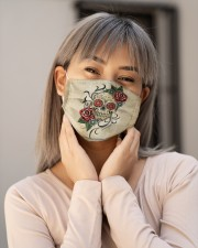 Skull Vintage H28859 Cloth face mask aos-face-mask-lifestyle-17