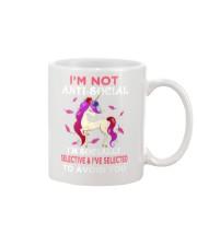 Unicorn Not Anti Social Mug thumbnail