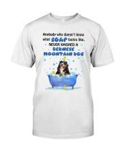 Bernese Mountain Dog and Soap Classic T-Shirt thumbnail