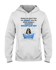Bernese Mountain Dog and Soap Hooded Sweatshirt thumbnail