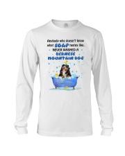 Bernese Mountain Dog and Soap Long Sleeve Tee thumbnail
